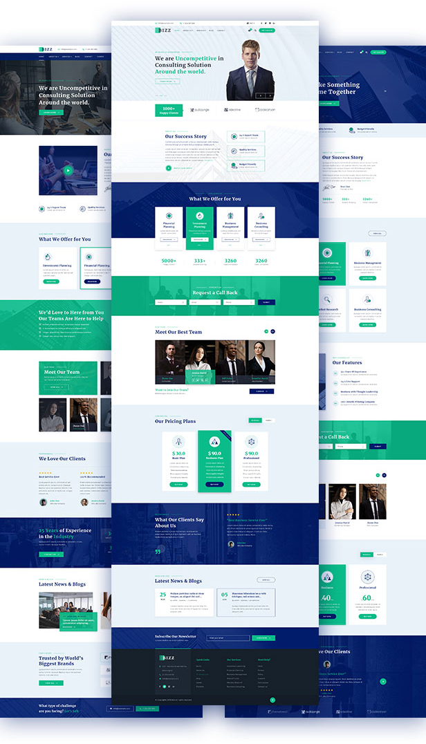 Business Consulting and Agency for Joomla template